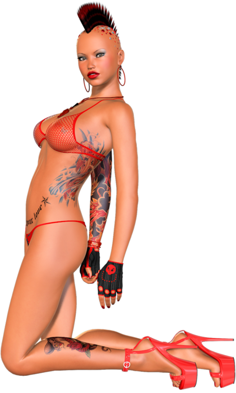 TUBES (png) poser dénudé (sexy)